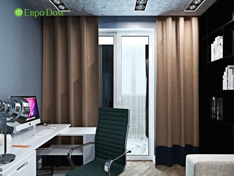 Дизайн 4-комнатной квартиры (120 кв. м) в стиле лофт. Фото 011