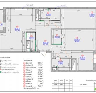 Дизайн четырехкомнатной квартиры 120 кв. м в стиле лофт. Фото проекта