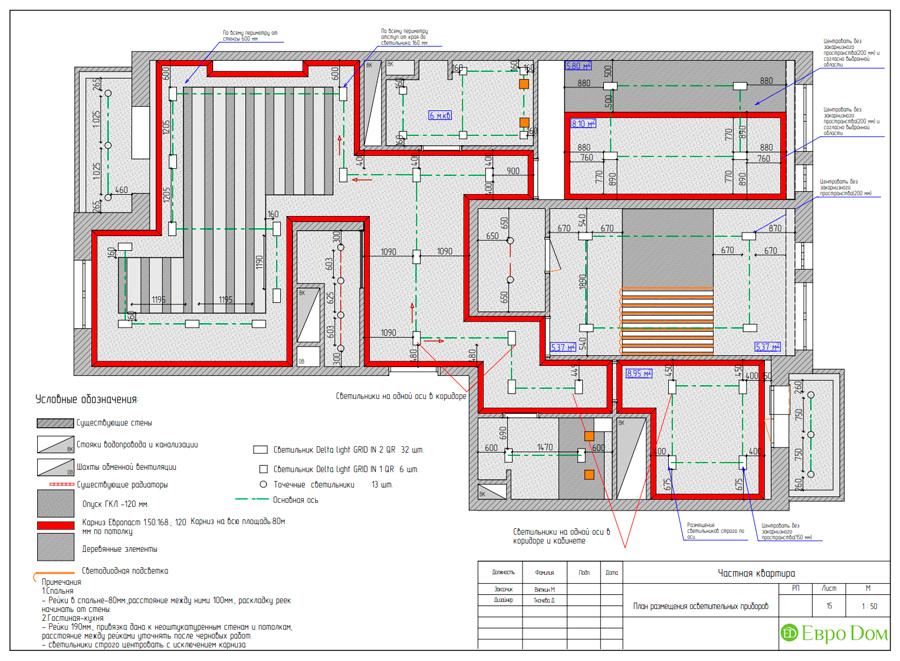 Дизайн 4-комнатной квартиры (120 кв. м) в стиле лофт. Фото 027