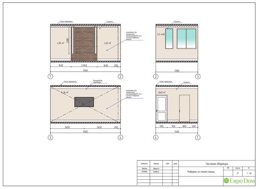 Дизайн 4-комнатной квартиры (120 кв. м) в стиле лофт. Фото 033