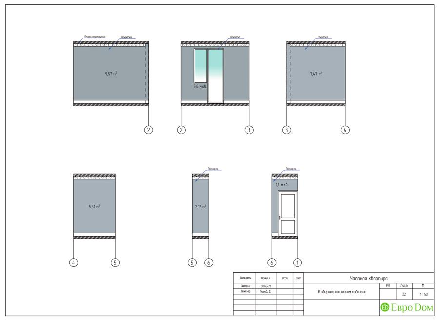 Дизайн 4-комнатной квартиры (120 кв. м) в стиле лофт. Фото 034