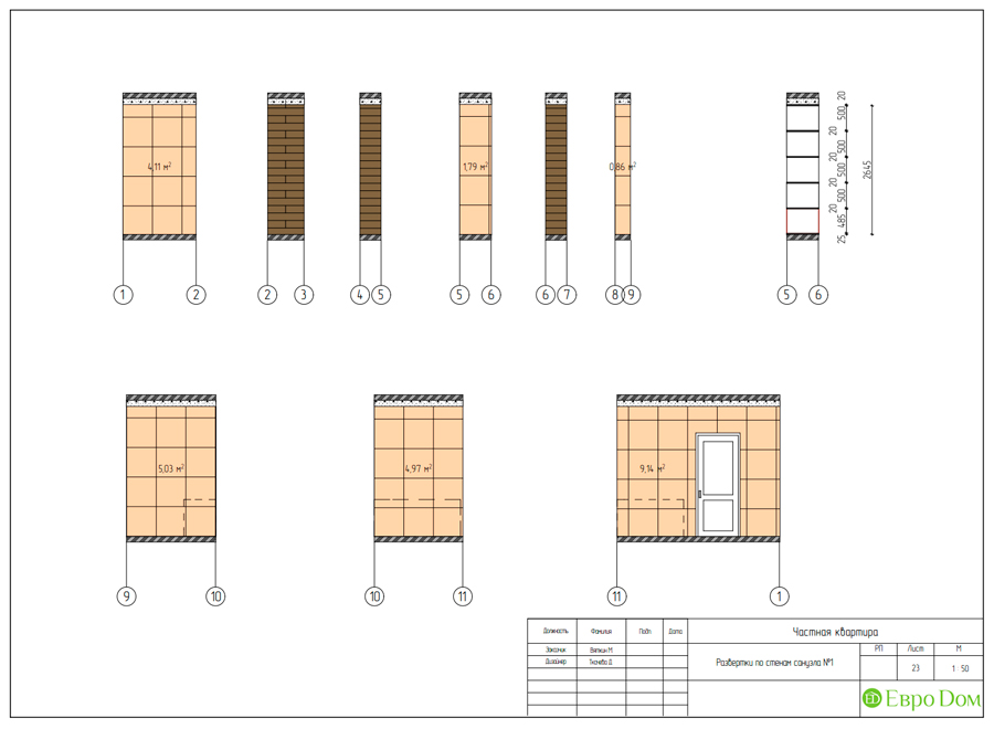 Дизайн 4-комнатной квартиры (120 кв. м) в стиле лофт. Фото 035