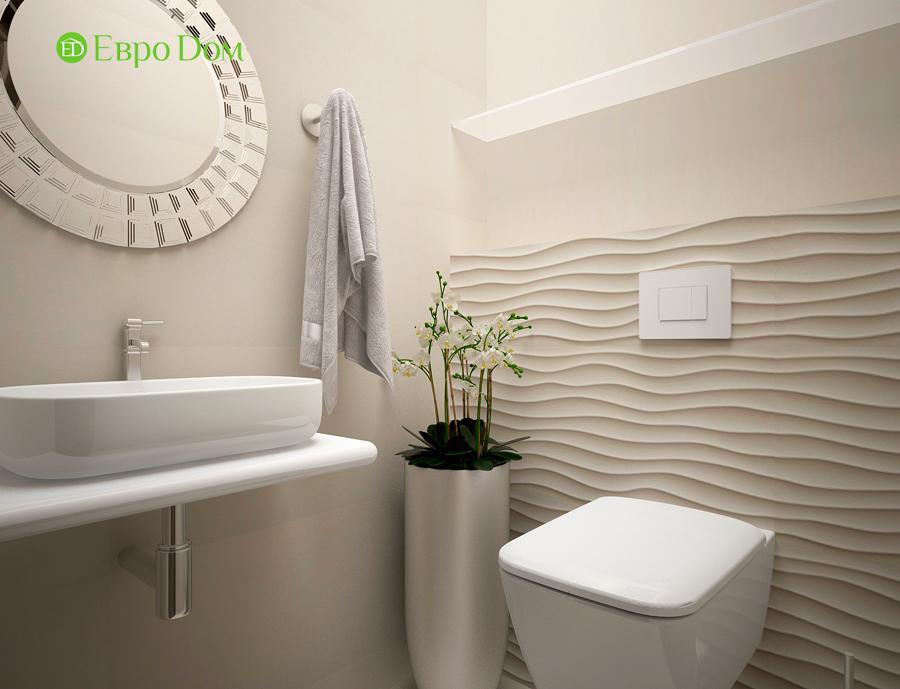 Дизайн интерьера 4-комнатной квартиры в стиле неоклассика. Фото 02