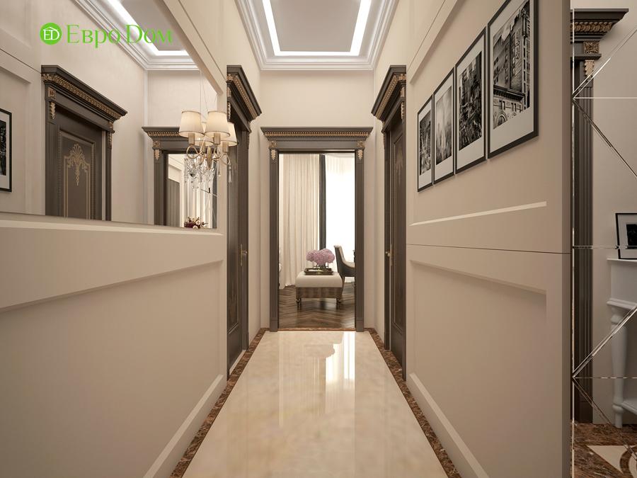 Дизайн интерьера 4-комнатной квартиры в стиле неоклассика. Фото 03