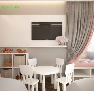 Дизайн четырехкомнатной квартиры 106 кв. м в стиле неоклассика. Фото проекта