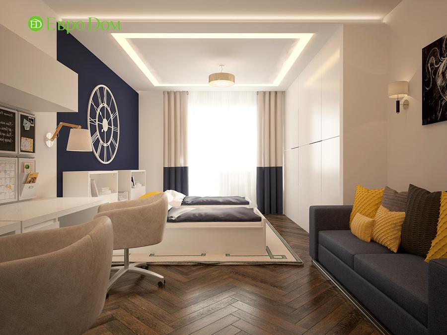 Дизайн интерьера 4-комнатной квартиры в стиле неоклассика. Фото 06