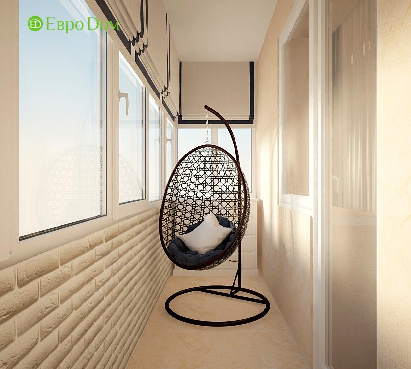 Дизайн интерьера 4-комнатной квартиры в стиле неоклассика. Фото 08