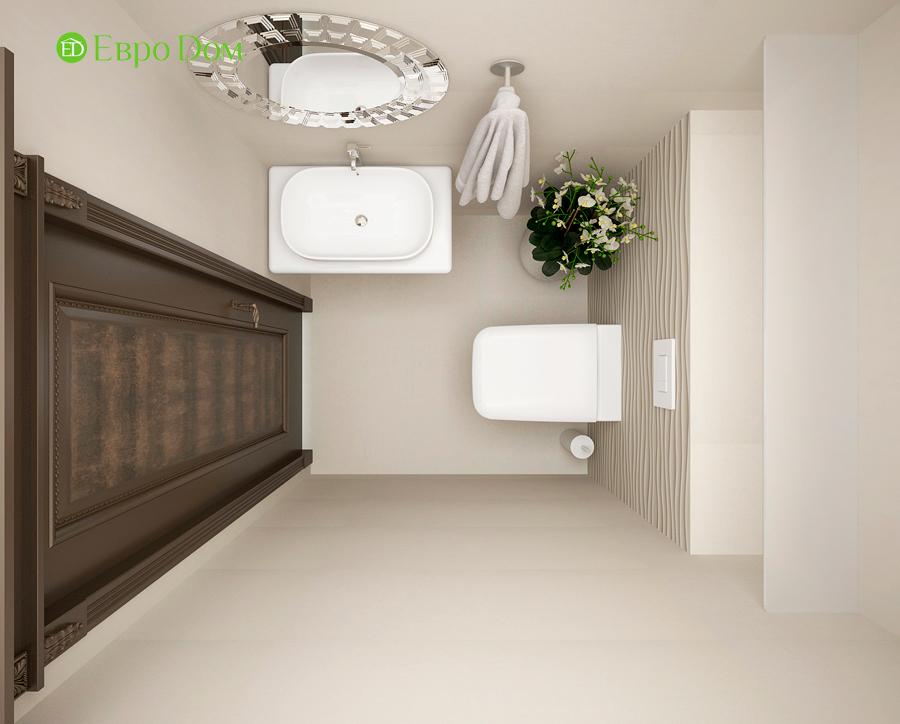 Дизайн интерьера 4-комнатной квартиры в стиле неоклассика. Фото 09