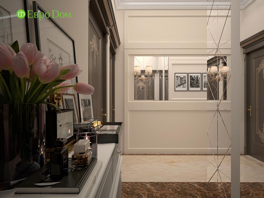 Дизайн интерьера 4-комнатной квартиры в стиле неоклассика. Фото 010