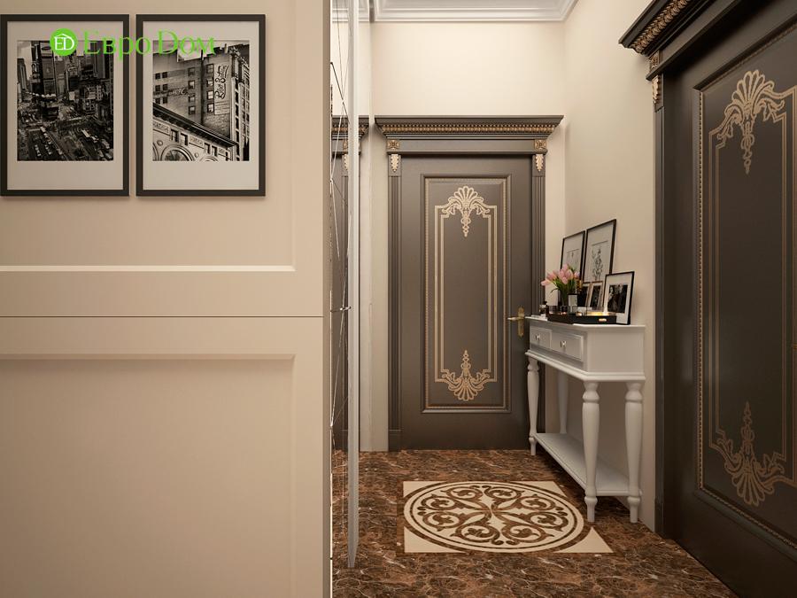 Дизайн интерьера 4-комнатной квартиры в стиле неоклассика. Фото 011