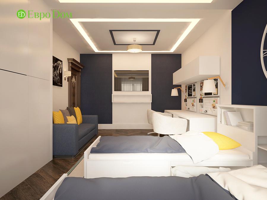 Дизайн интерьера 4-комнатной квартиры в стиле неоклассика. Фото 012