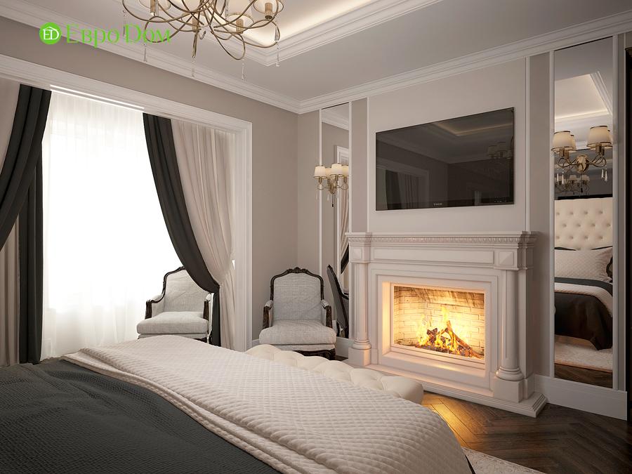 Дизайн интерьера 4-комнатной квартиры в стиле неоклассика. Фото 013