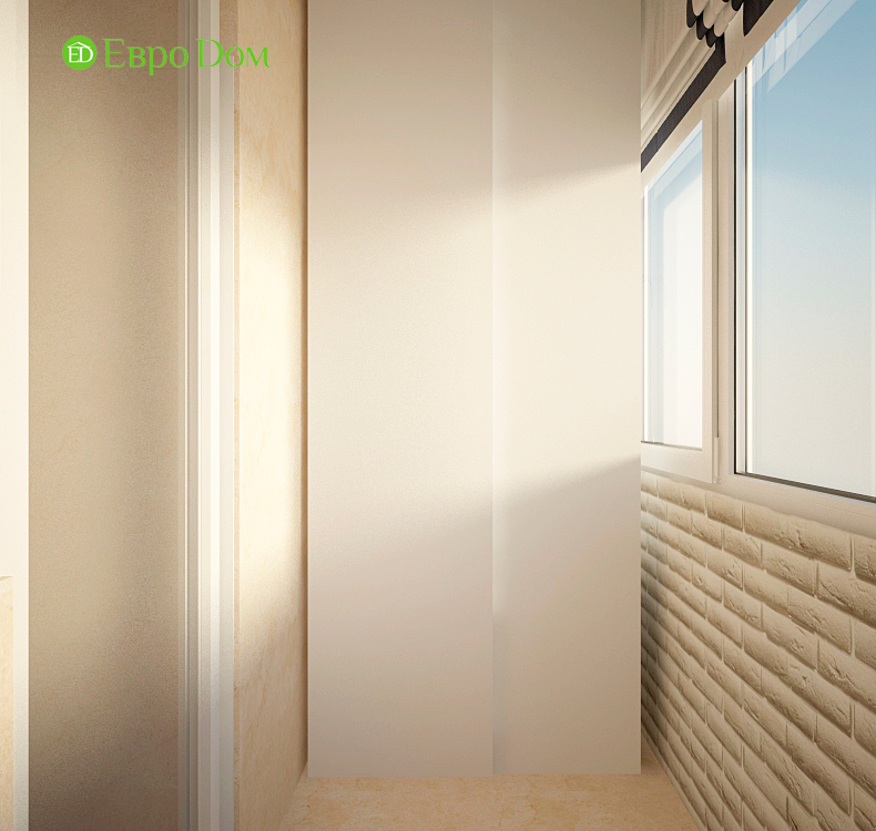 Дизайн интерьера 4-комнатной квартиры в стиле неоклассика. Фото 014
