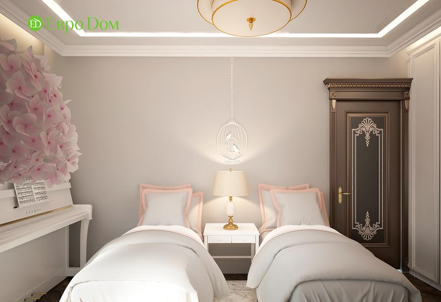 Дизайн интерьера 4-комнатной квартиры в стиле неоклассика. Фото 015