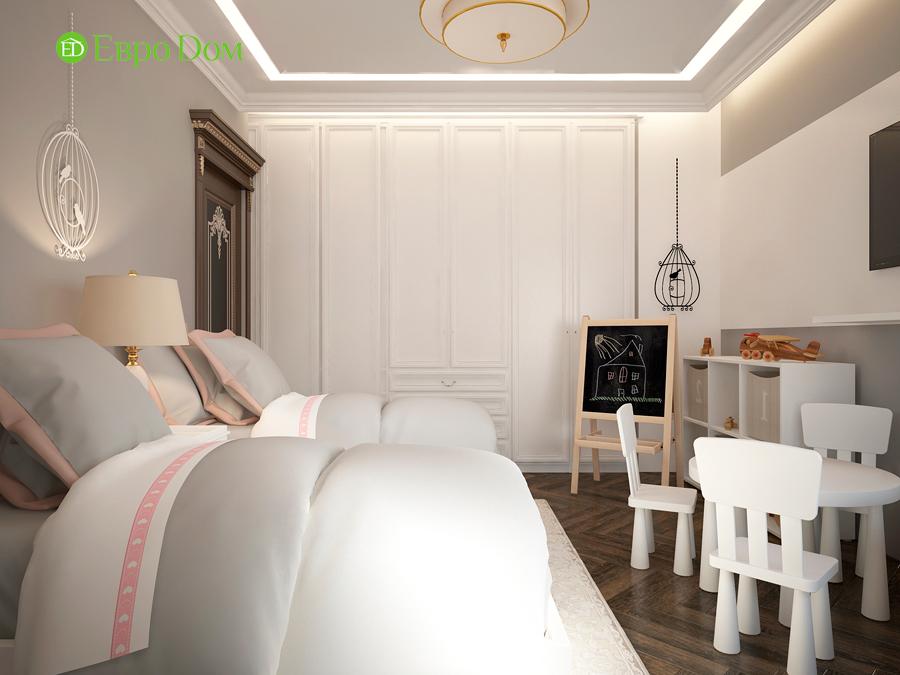 Дизайн интерьера 4-комнатной квартиры в стиле неоклассика. Фото 019