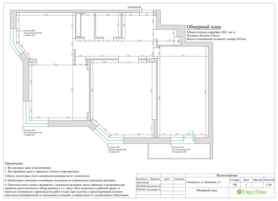Дизайн интерьера 4-комнатной квартиры в стиле неоклассика. Фото 025