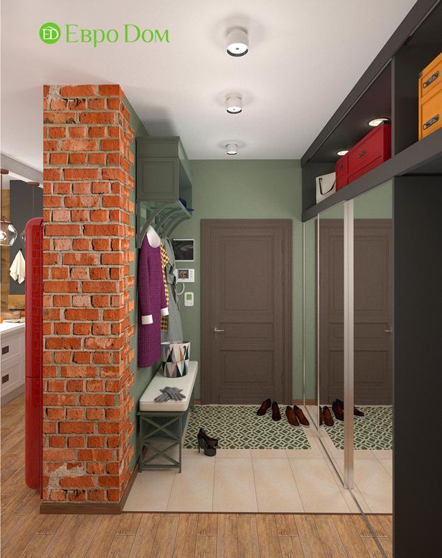 Дизайн 2-комнатной квартиры 84 кв. м в стиле лофт. Фото 04