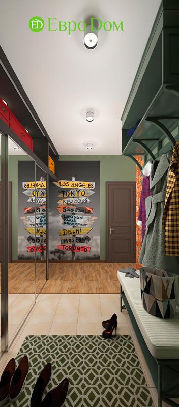 Дизайн 2-комнатной квартиры 84 кв. м в стиле лофт. Фото 05