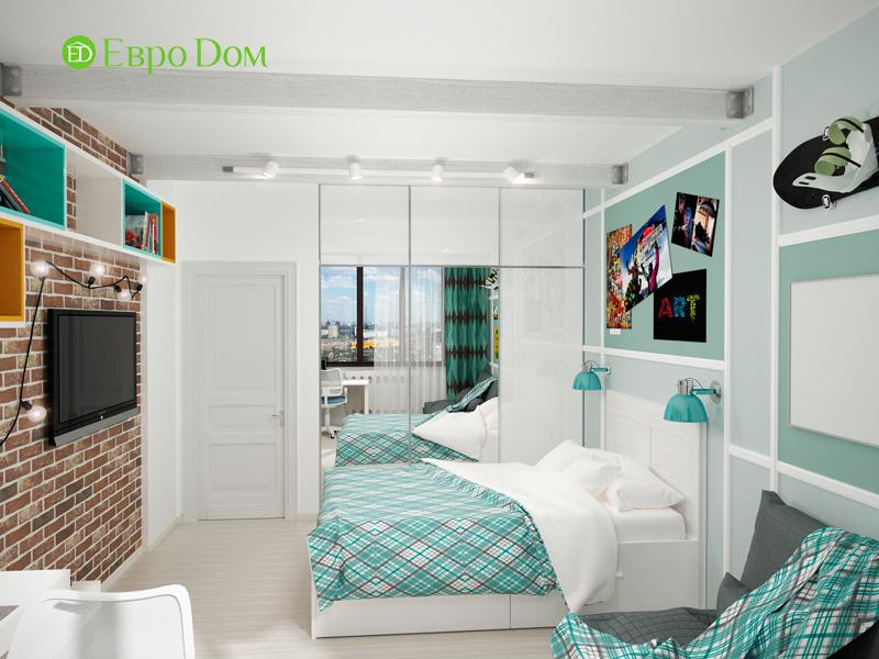 Дизайн 2-комнатной квартиры 84 кв. м в стиле лофт. Фото 08