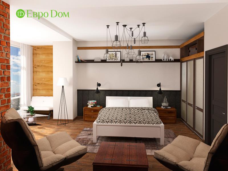 Дизайн 2-комнатной квартиры 84 кв. м в стиле лофт. Фото 09