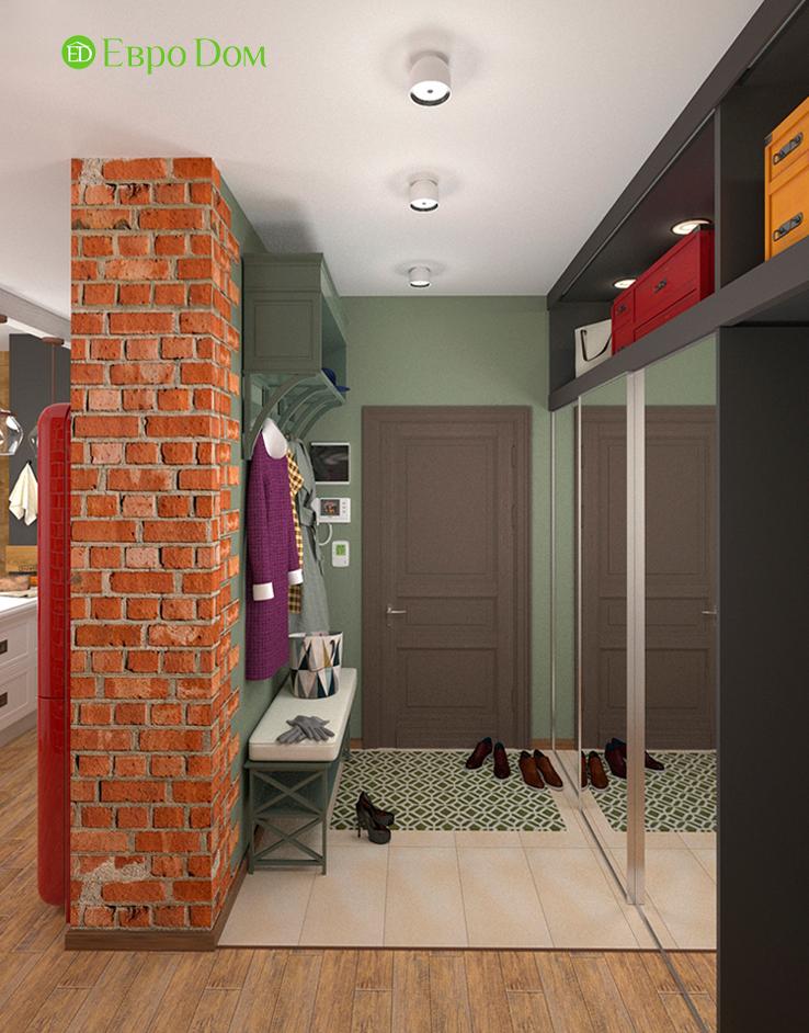 Дизайн 2-комнатной квартиры 84 кв. м в стиле лофт. Фото 014