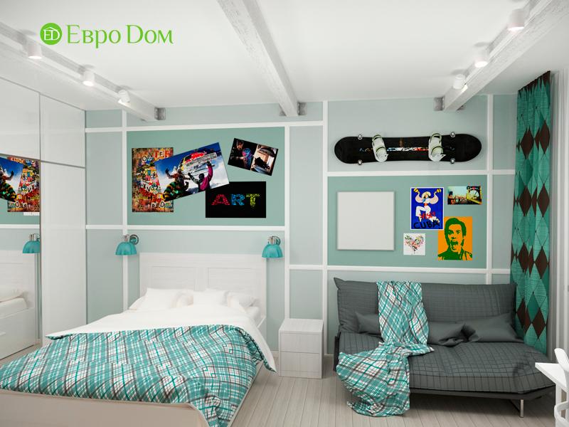 Дизайн 2-комнатной квартиры 84 кв. м в стиле лофт. Фото 015