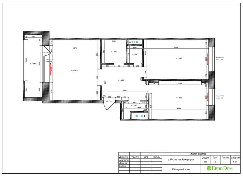 Дизайн 2-комнатной квартиры 84 кв. м в стиле лофт. Фото 024