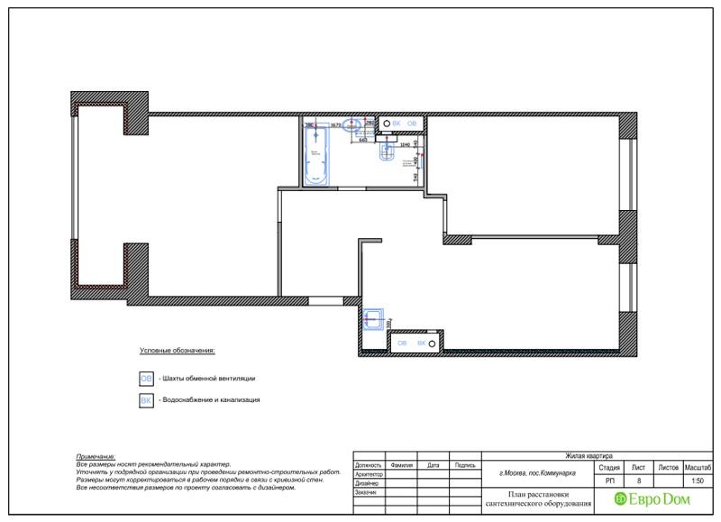 Дизайн 2-комнатной квартиры 84 кв. м в стиле лофт. Фото 030