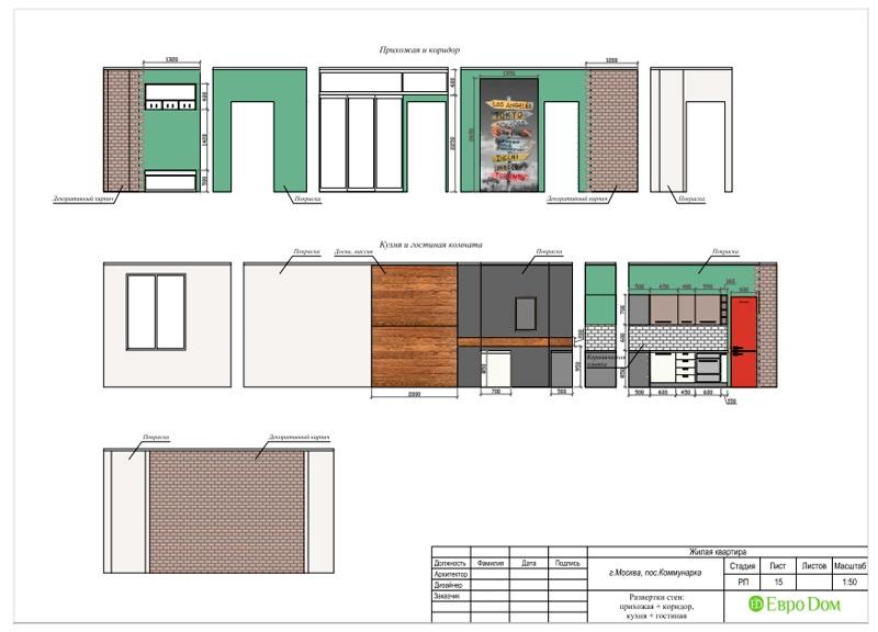 Дизайн 2-комнатной квартиры 84 кв. м в стиле лофт. Фото 038