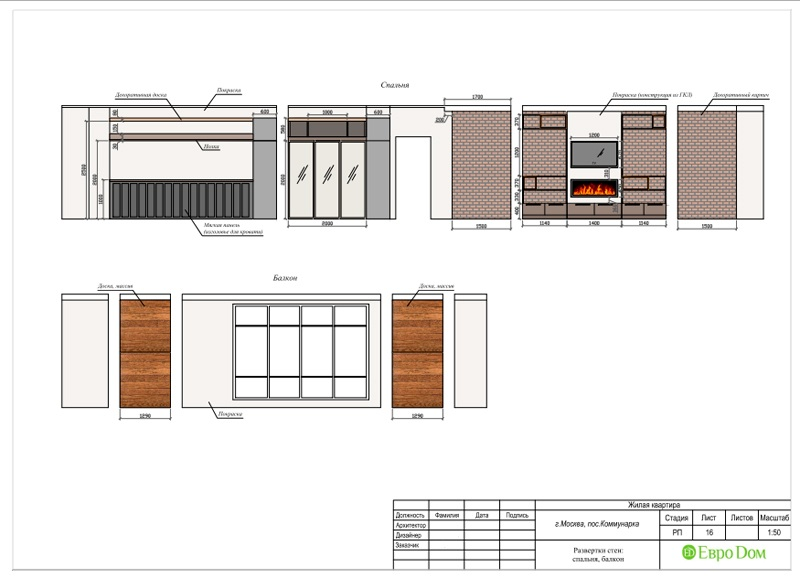Дизайн 2-комнатной квартиры 84 кв. м в стиле лофт. Фото 039