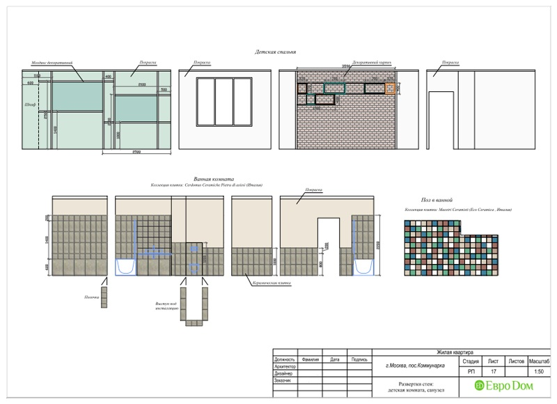 Дизайн 2-комнатной квартиры 84 кв. м в стиле лофт. Фото 040