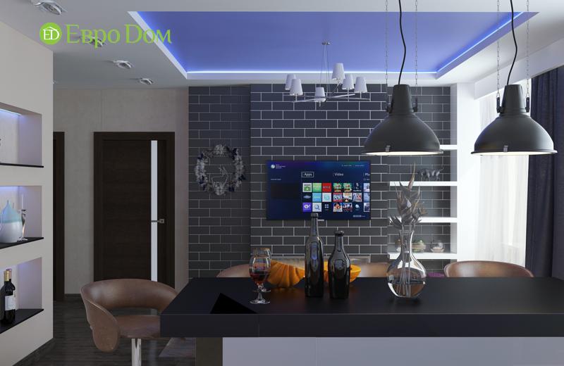 Дизайн 2-комнатной квартиры в классическом стиле. Фото 05