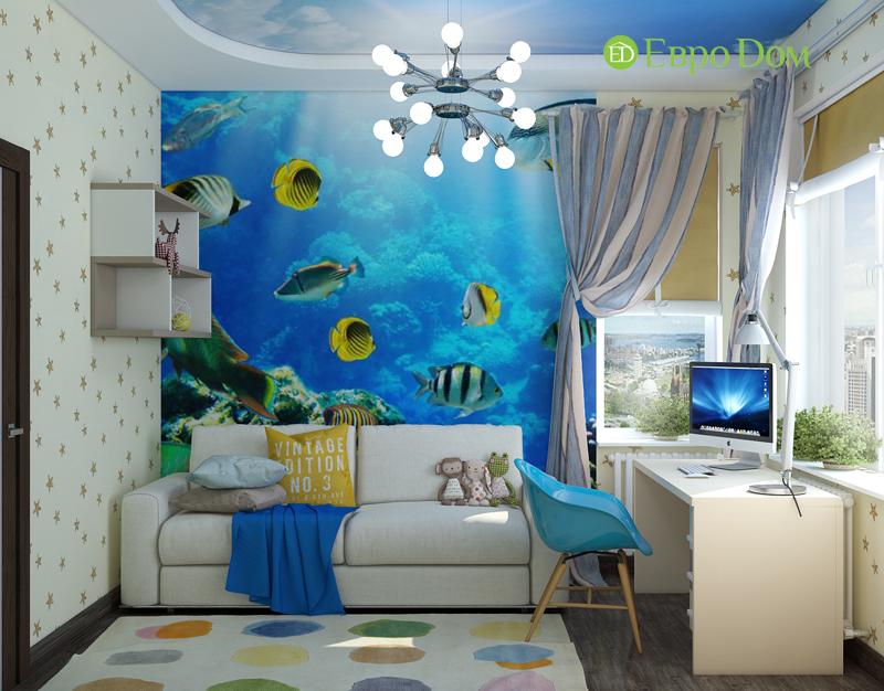 Дизайн 2-комнатной квартиры в классическом стиле. Фото 06