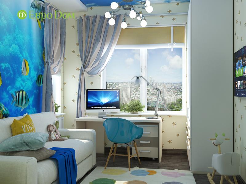 Дизайн 2-комнатной квартиры в классическом стиле. Фото 07