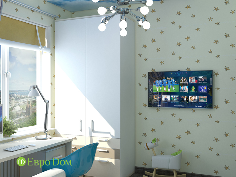 Дизайн 2-комнатной квартиры в классическом стиле. Фото 08