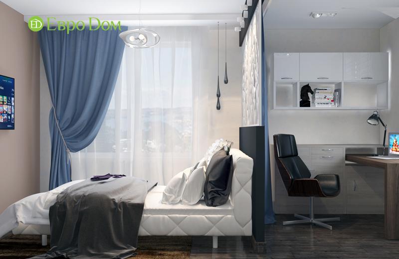 Дизайн 2-комнатной квартиры в классическом стиле. Фото 012