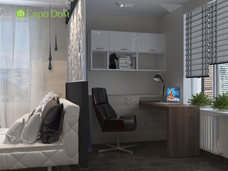 Дизайн 2-комнатной квартиры в классическом стиле. Фото 013