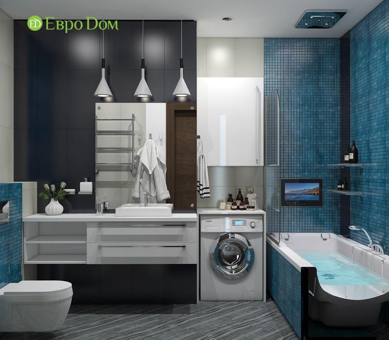 Дизайн 2-комнатной квартиры в классическом стиле. Фото 014