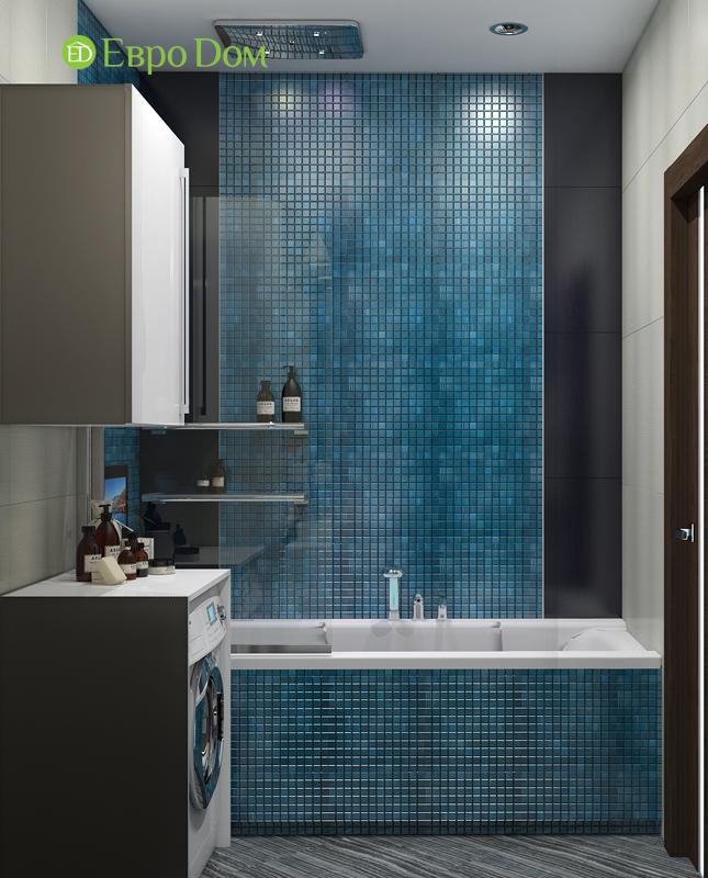 Дизайн 2-комнатной квартиры в классическом стиле. Фото 015