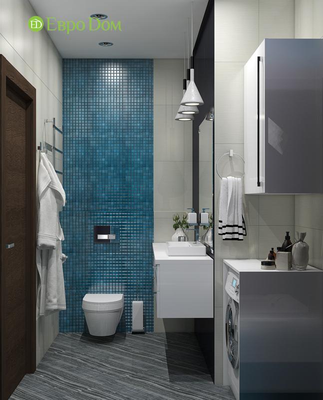 Дизайн 2-комнатной квартиры в классическом стиле. Фото 016