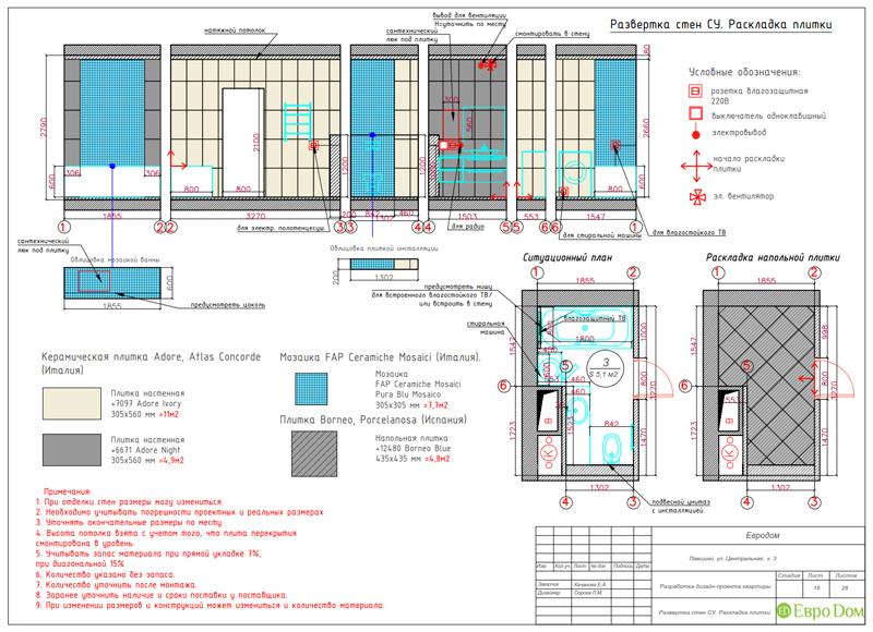 Дизайн 2-комнатной квартиры в классическом стиле. Фото 032