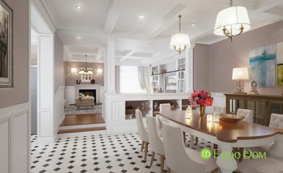 Дизайн интерьера коттеджа 393 кв.м. по адресу г. Москва, д. Дудкино, д. 66а. Фото 1