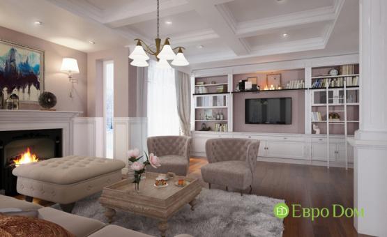 Дизайн интерьера коттеджа 393 кв.м. по адресу г. Москва, д. Дудкино, д. 66а. Фото 2