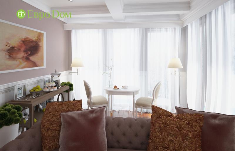 Дизайн интерьера коттеджа 393 кв. м в английском стиле. Фото 011