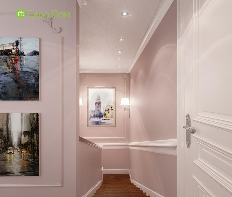 Дизайн интерьера коттеджа 393 кв. м в английском стиле. Фото 012