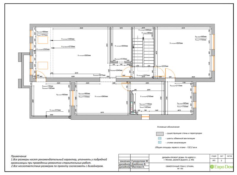 Дизайн интерьера коттеджа 393 кв. м в английском стиле. Фото 018