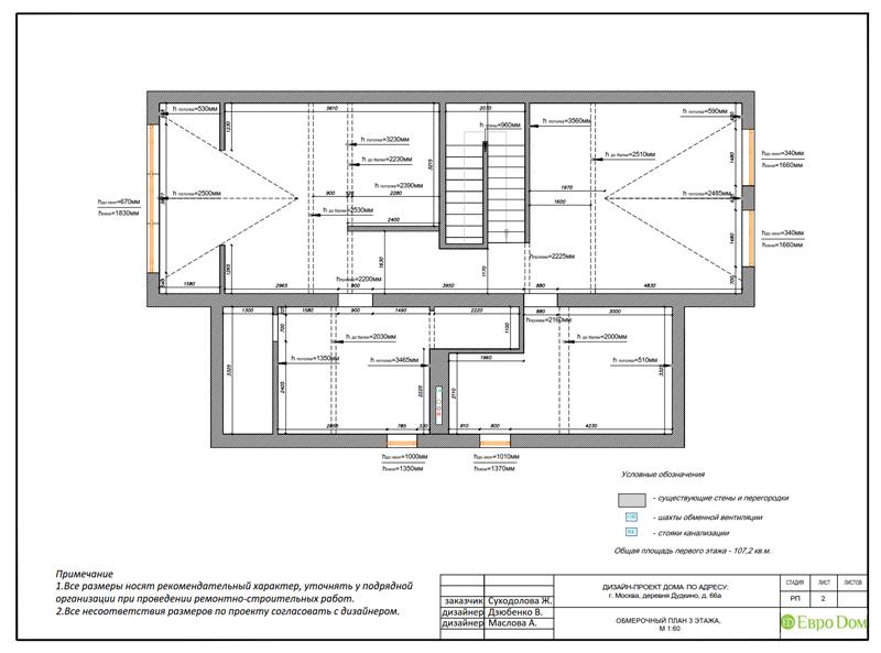 Дизайн интерьера коттеджа 393 кв. м в английском стиле. Фото 019