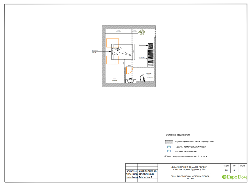Дизайн интерьера коттеджа 393 кв. м в английском стиле. Фото 032
