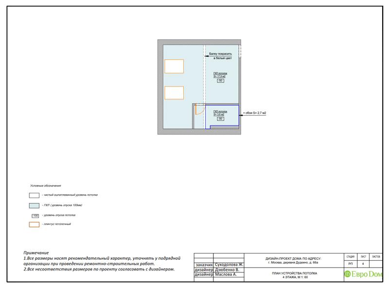 Дизайн интерьера коттеджа 393 кв. м в английском стиле. Фото 059