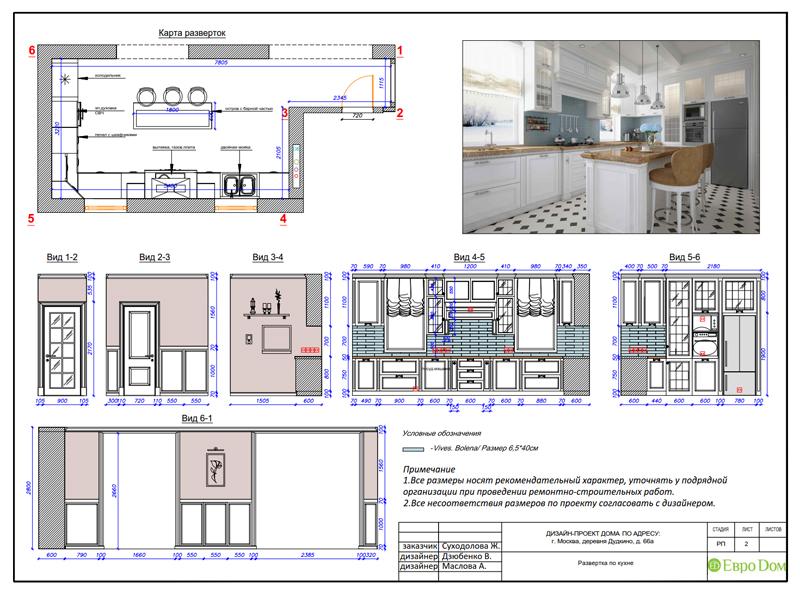 Дизайн интерьера коттеджа 393 кв. м в английском стиле. Фото 067